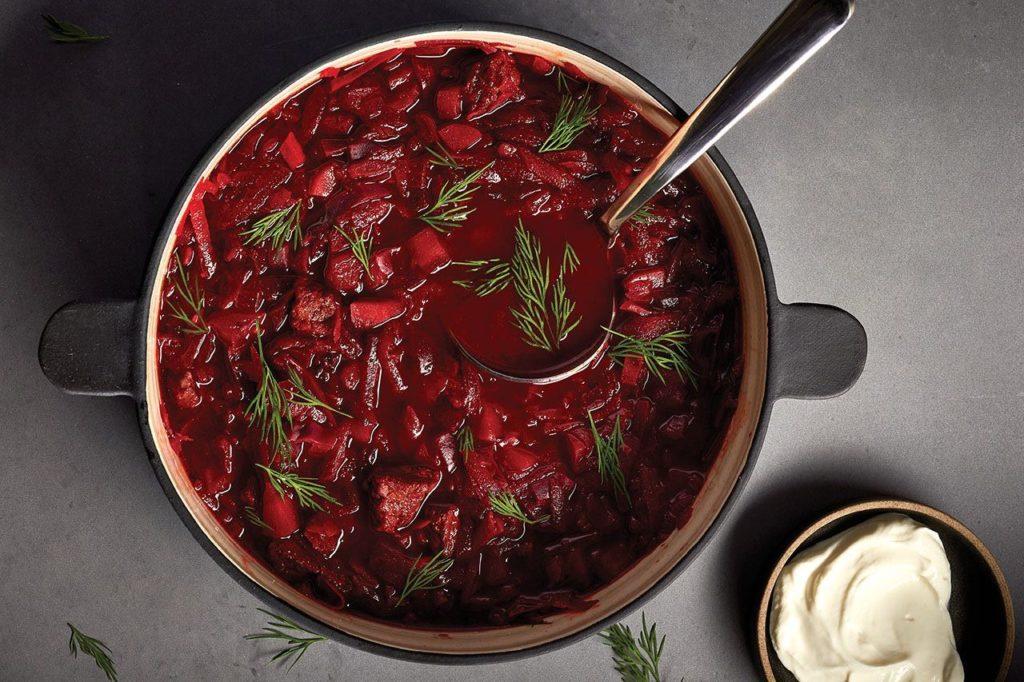 Рецепт борщової заправки з буряком — «ідеальний червоний борщ» на зиму