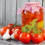 12 рецептів маринованих помідорів на зиму | Консервація на 1л банку