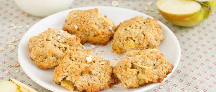 Швидке яблучне печиво