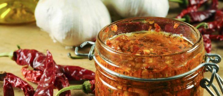 Суха заправка з перцю і помідорів