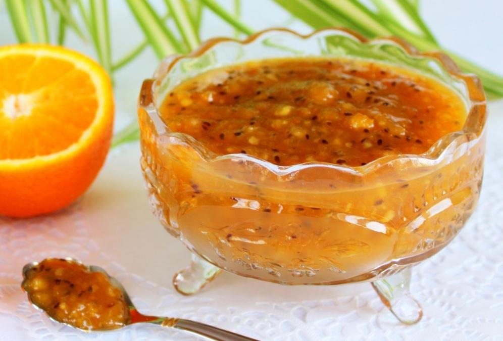 Апельсинове варення з агрусу
