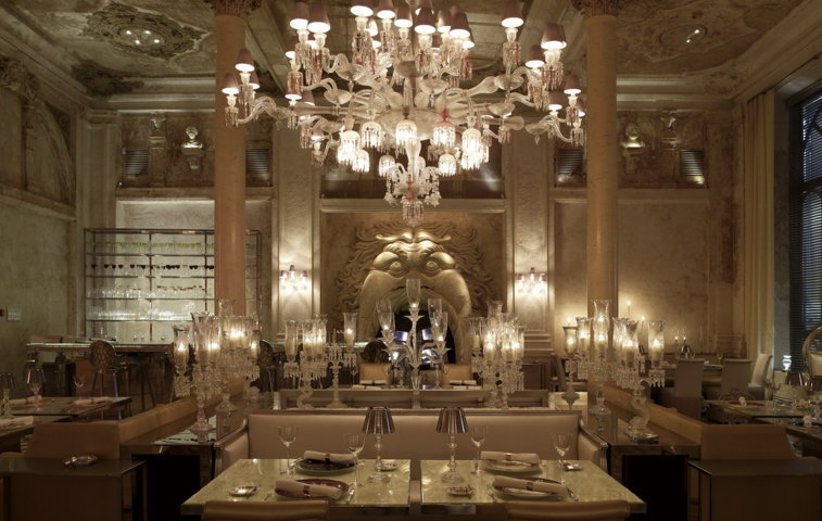 Кришталева кімната Баккара – ресторан з історією