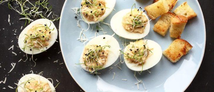 Ті ж самі яйця, тільки фаршировані: 9 варіантів начинок