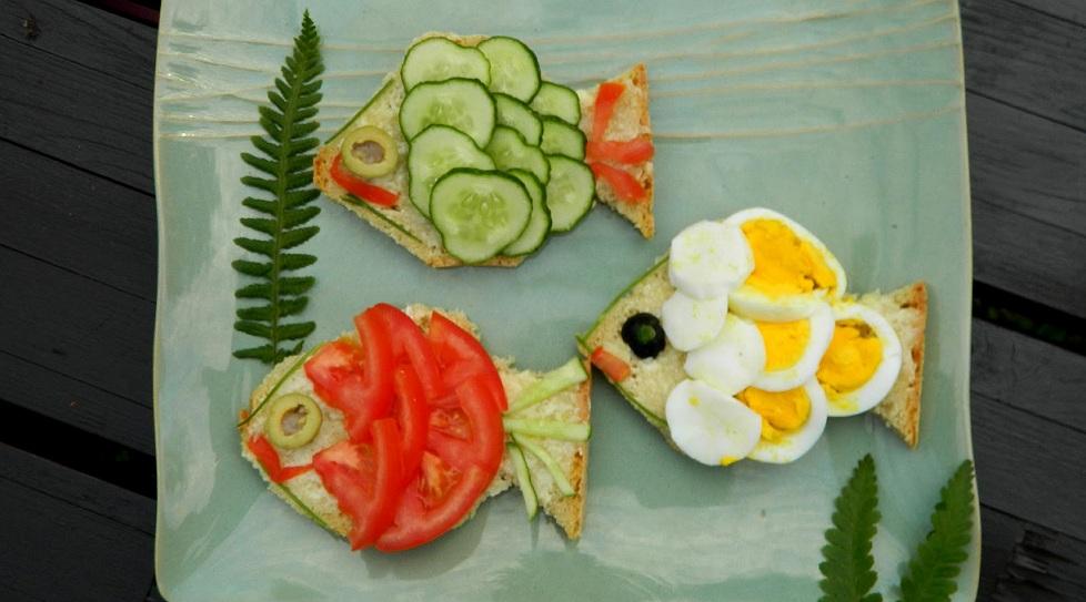 Фігурні бутерброди