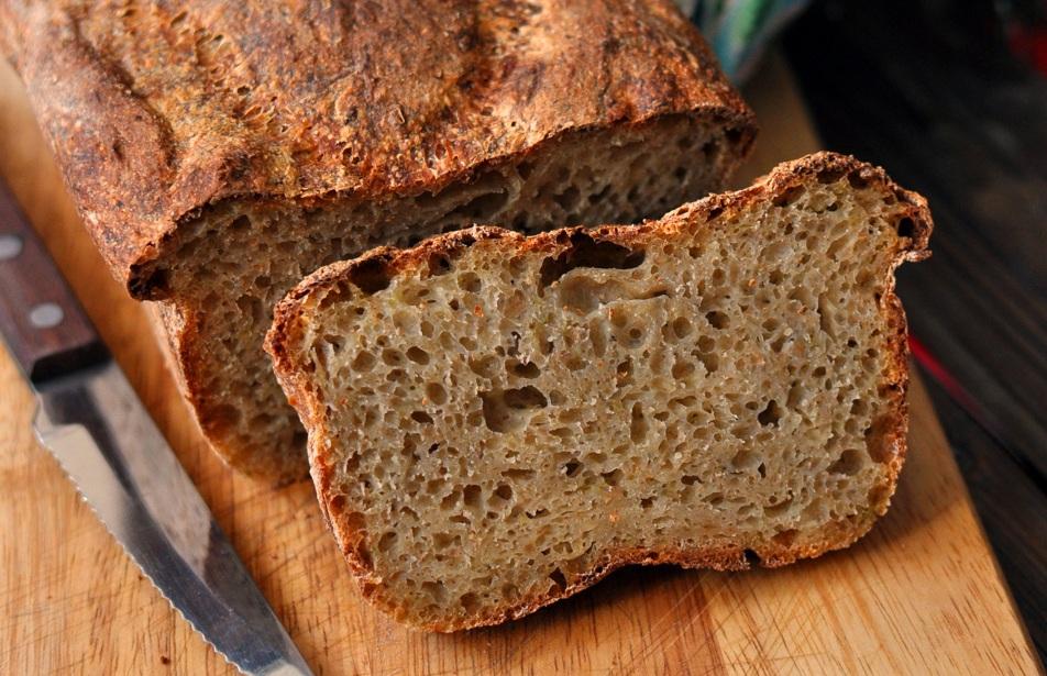 Хліб бездріжджовий (на заквасці)