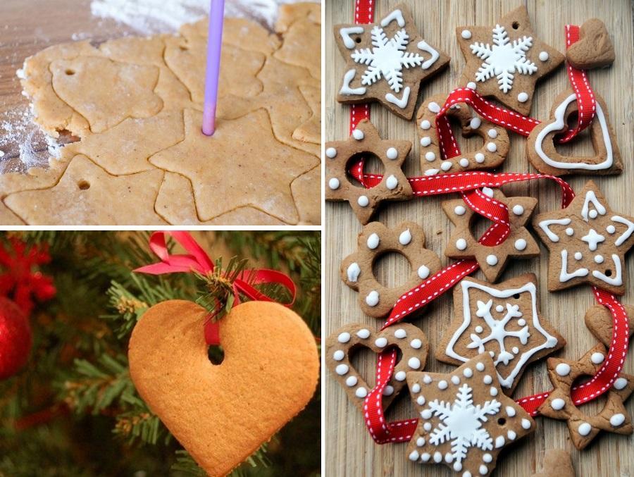 Різдвяне імбирне печиво на ялинку
