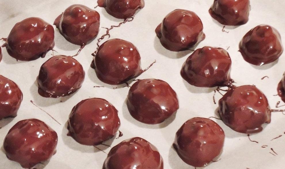 Кавово-шоколадні тістечка «Баядерки»