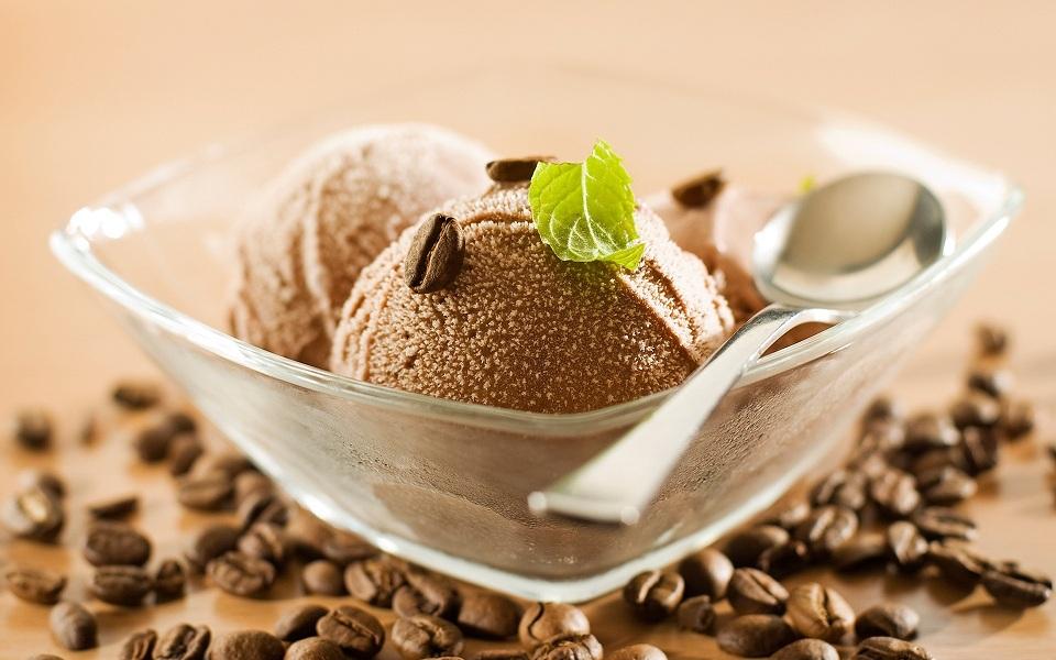 Кавове морозиво