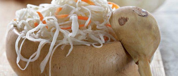 Хрумка квашена капуста з морквою | Швидкий рецепт на зиму