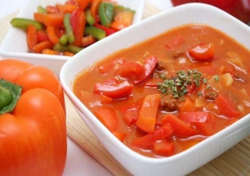 Лечо з помідорів і перцю без оцту