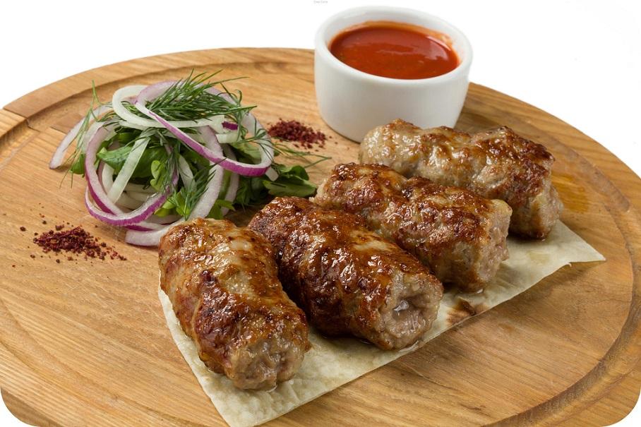 Люля-кебаб з яловичини