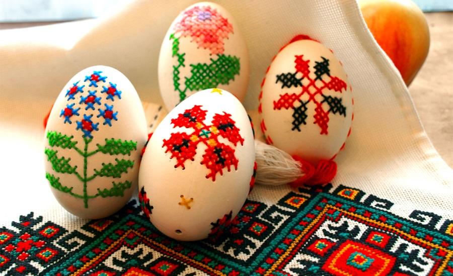Прикрашаємо великодні яйця: просто і витончено