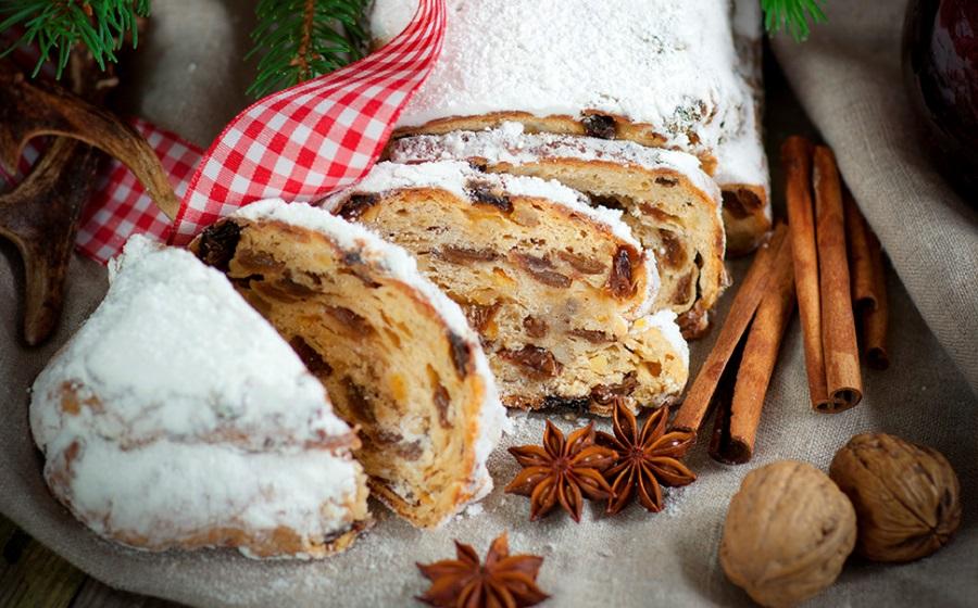 Штоллен, німецький різдвяний кекс