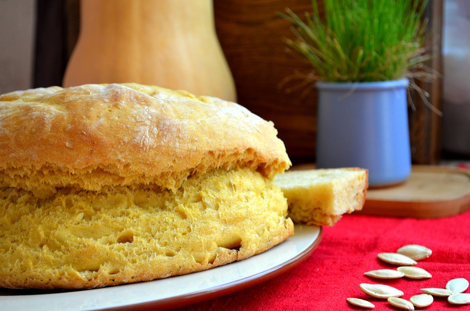 Солодкий гарбузовий хліб