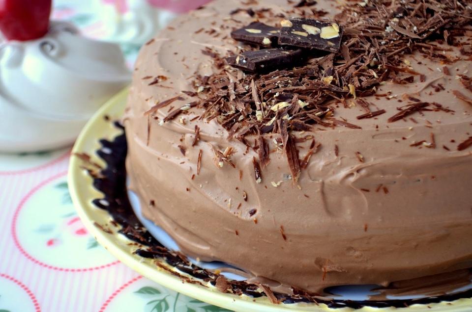 Торт із квасолі
