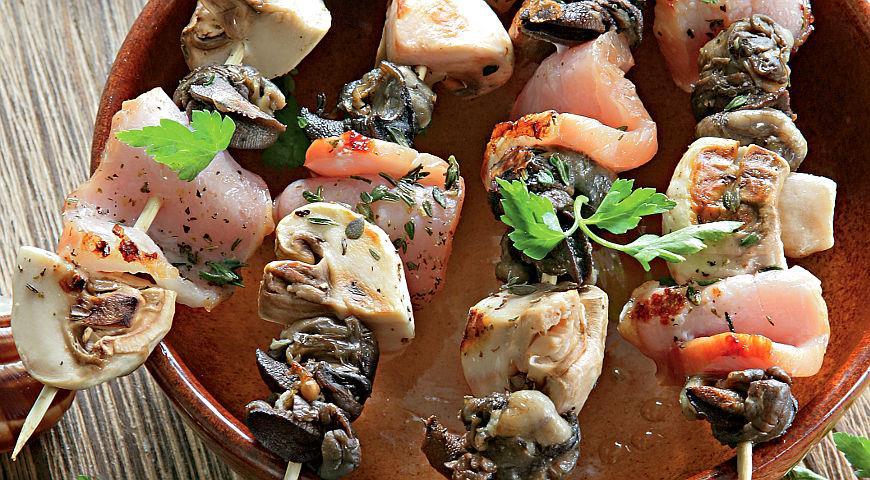 Пікнік без м'яса: 8 нетрадиційних рецептів шашлика
