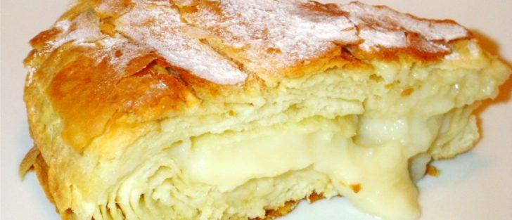 Єгипетський пиріг із заварним кремом