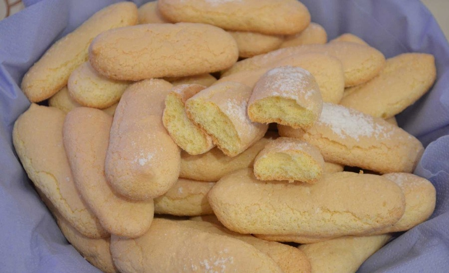 Бісквітне печиво «Дамські пальчики»