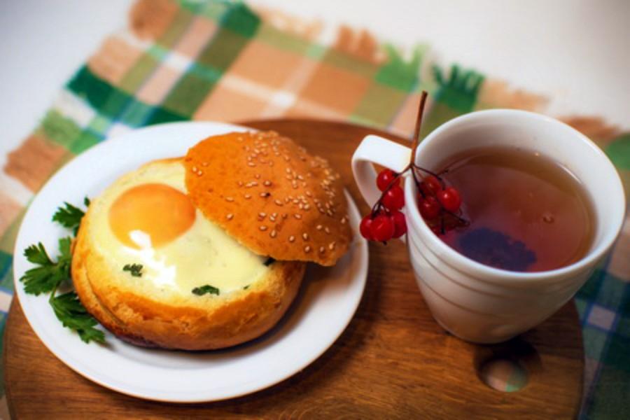 Булочки з яйцем
