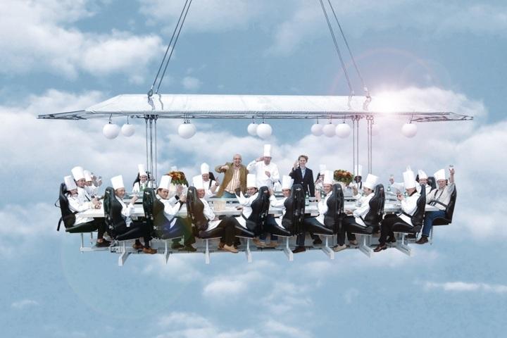 Dinner In The Sky – ресторан у повітрі