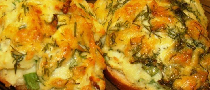 Гарячі бутерброди з картопляним пюре