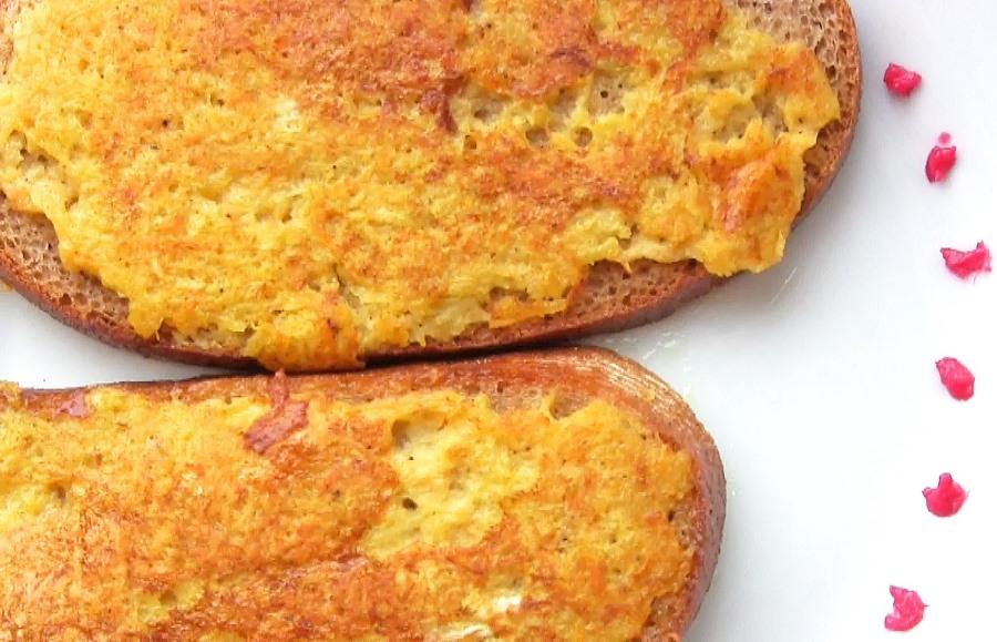 Гарячі бутерброди з овочами в клярі
