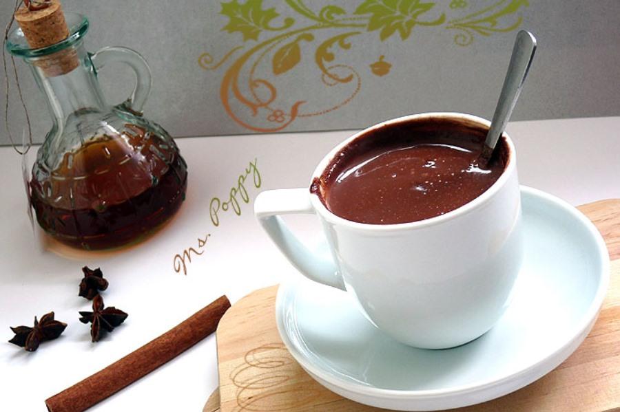 Гарячий шоколад для дорослих