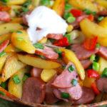 Запечена картопля в мікрохвильовці