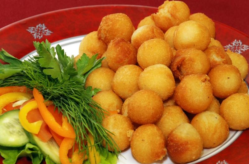 Картопляні пончики