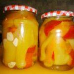 Перець маринований з медом | Рецепт болгарського перцю на зиму