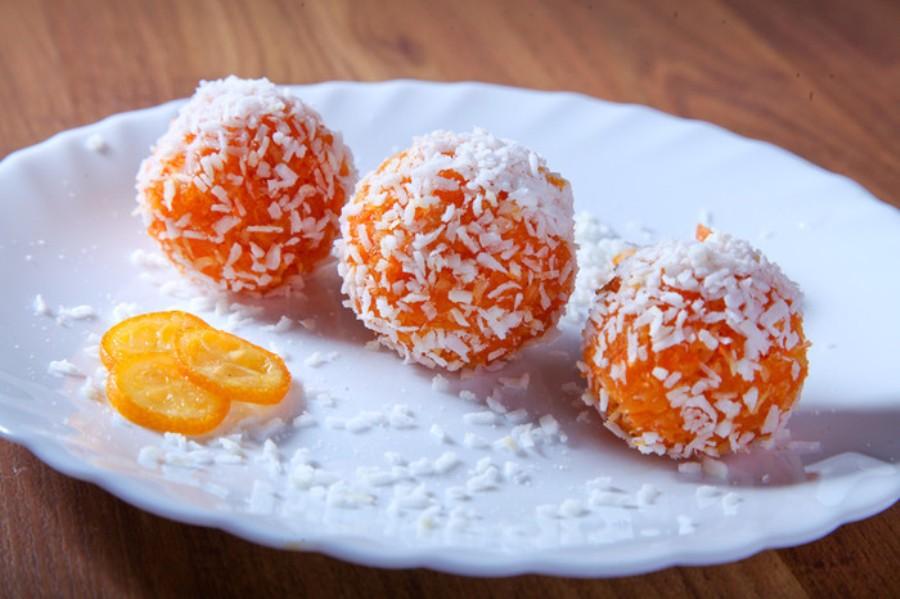 Морквяні цукерки