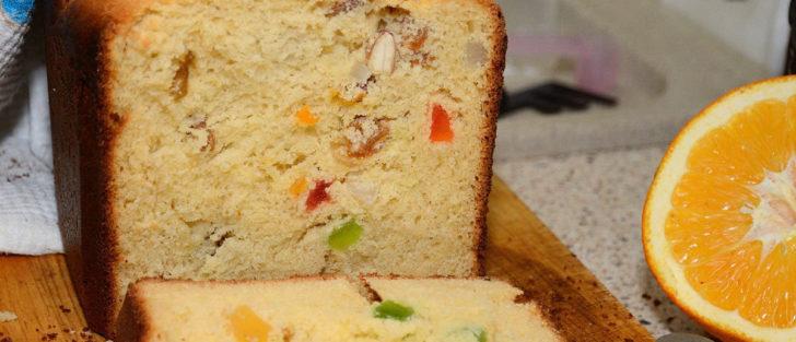 Великодня паска з цукатами у хлібопічці