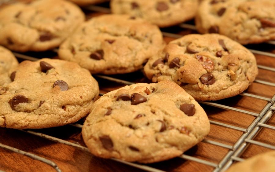 Печиво зі шматочками шоколаду