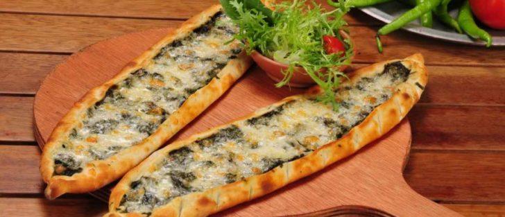 Турецька піца з болгарським перцем і фаршем