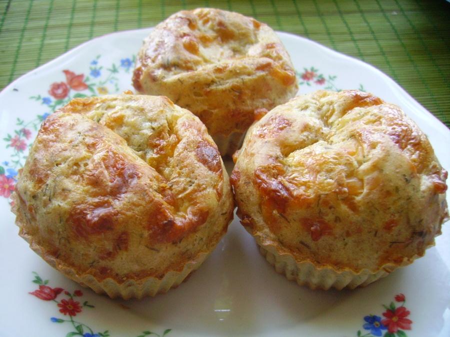 Закусочні сирні кекси