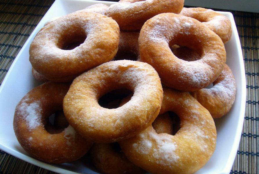 Пончики з кисломолочного сиру