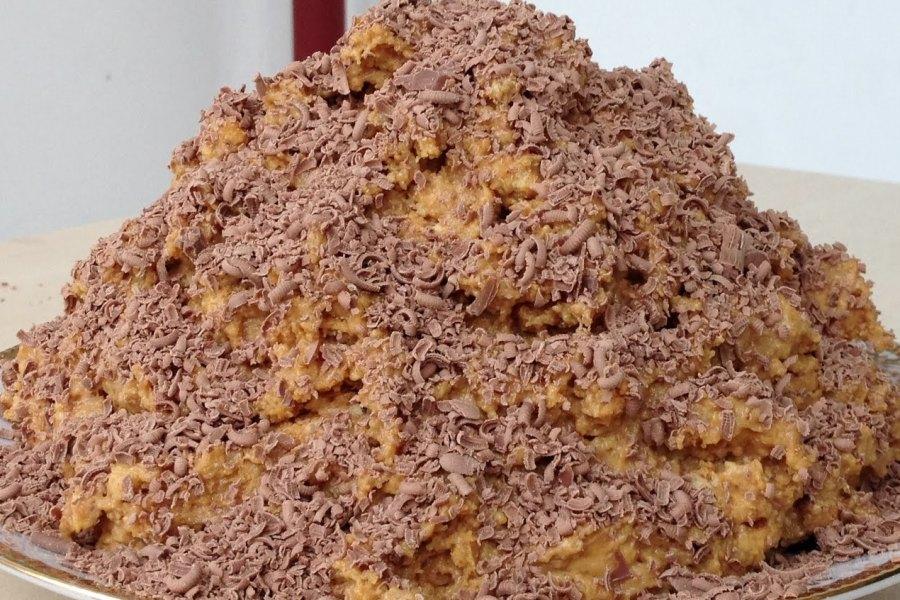 Торт «Мурашник» без випікання