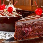 Торт п'яна вишня (пляцок) | Простий рецепт в домашніх умовах
