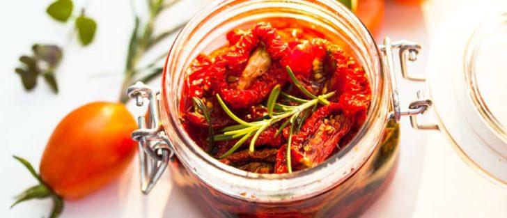 В'ялені помідори в мікрохвильовці за півгодини