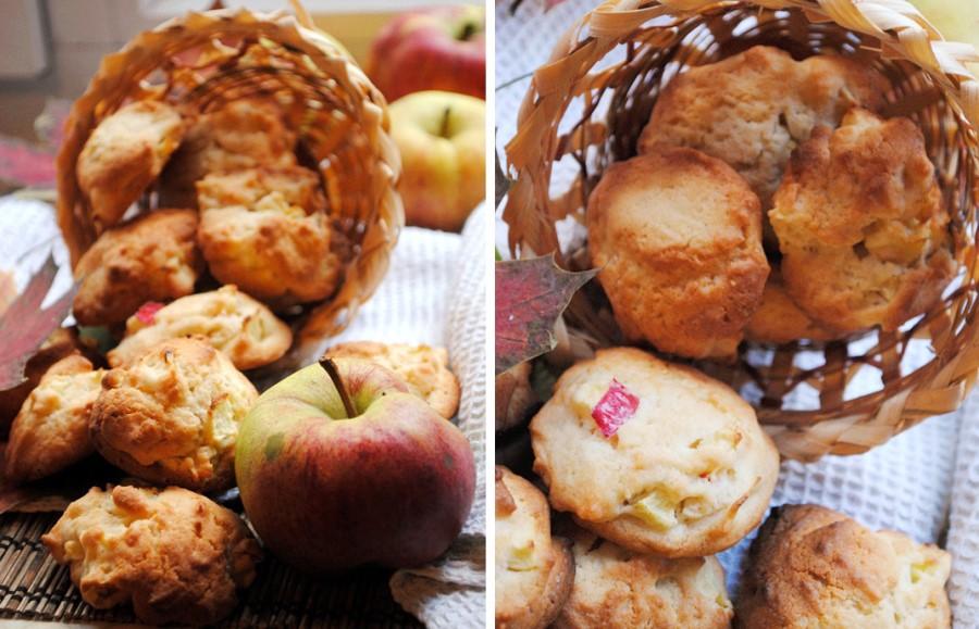 Яблучне печиво з корицею