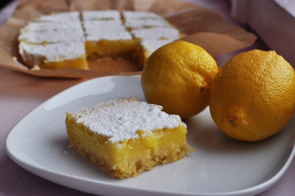 Лимонно-вівсяні тістечка