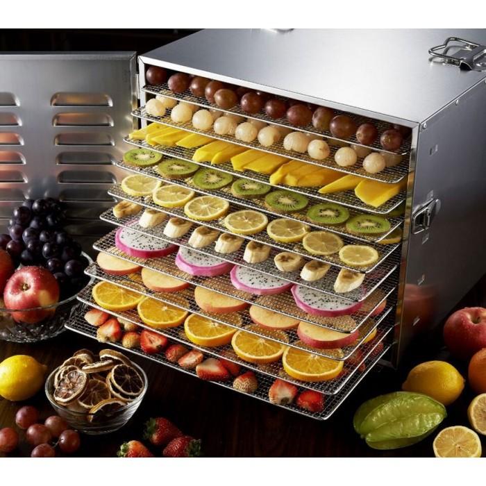 Як сушити овочі та фрукти в дегідраторі GoodFood