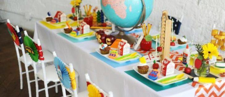 Дитячий святковий стіл | Меню з 5 рецептів на 1 вересня