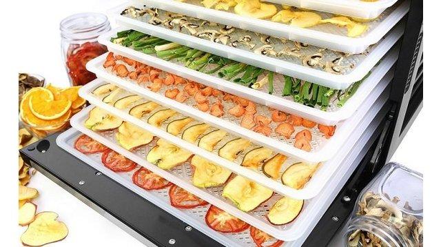 Дегідратори для сушіння харчових продуктів