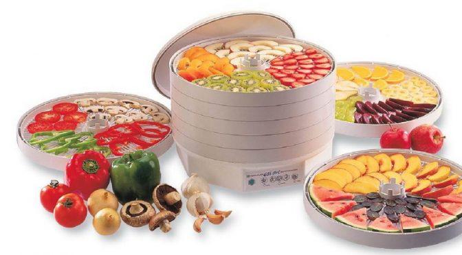 Побутова сушарка для фруктів та овочів