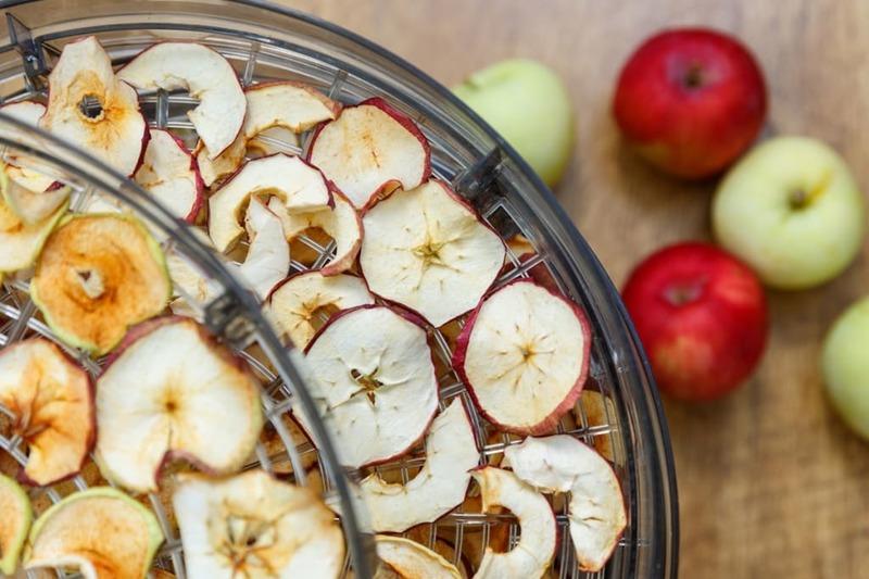 Як сушити яблука та груші