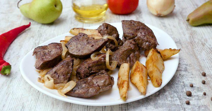 Рецепт печінки з свинини