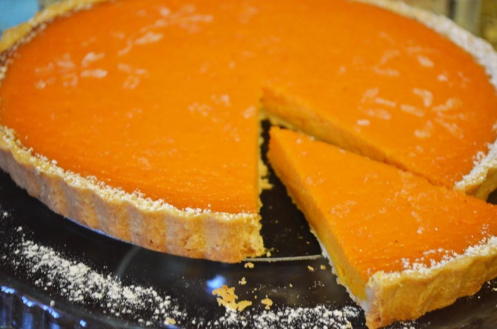 Гарбузовий торт для дітей в духовці