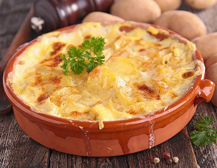 Картопляна запіканка (рокот-крумплі)