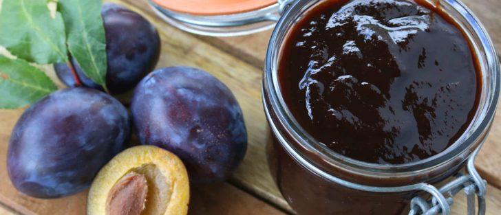 Нутелла зі слив | Шоколадне сливове варення з какао на зиму